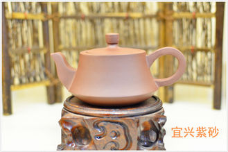 Chine Collection Yixing Purple Clay Teapot , Delicate Yixing Zisha Clay Teapot fournisseur